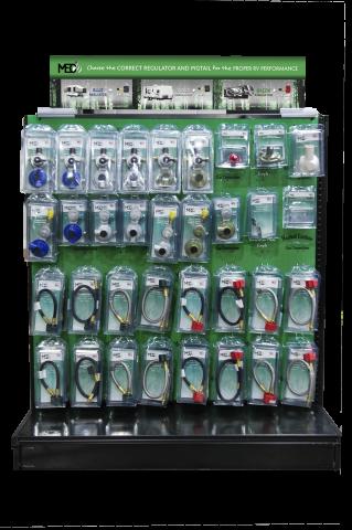 MEC RV Plan-O-Gram Excela-Flo Regulator & Hose Display - 4